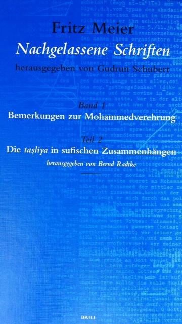 Fritz Meier- Bemerkungen